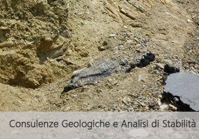 Consulenze geologiche e analisi di stabilità