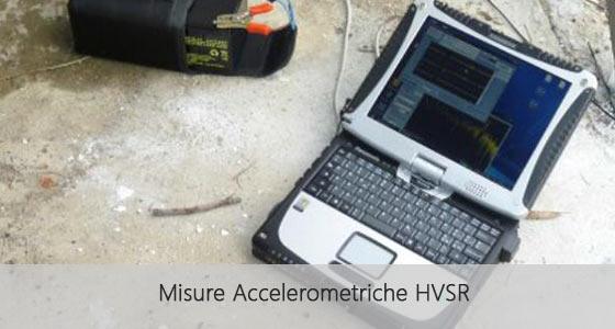 misure accelerometriche hvsr